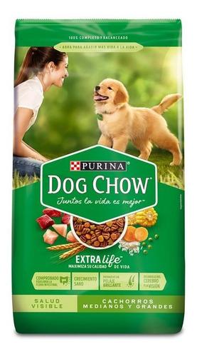 Dog Chow Cachorro Mediano Grande 22,7 Kg