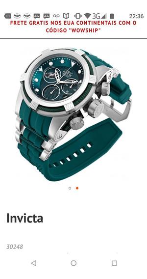 Relógio Invicta Original Importado Dos Eua Modelo 30248