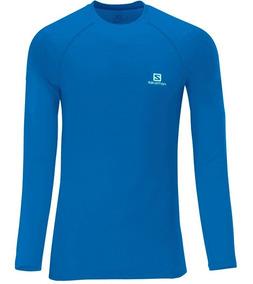 Camiseta Salomon - Hybrid Ls M - Masculina
