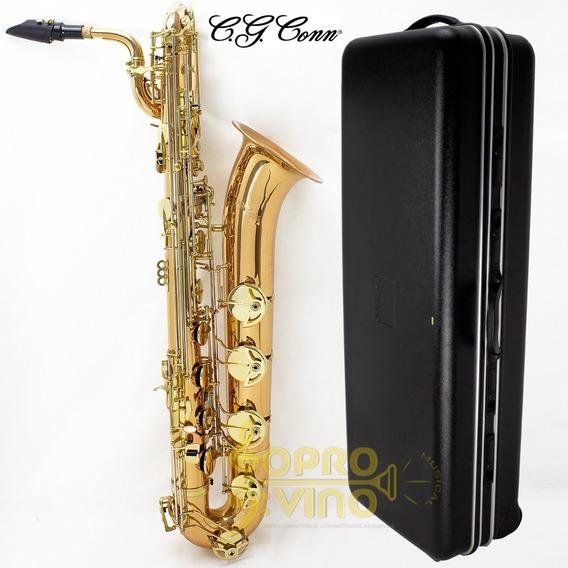 Sax Barítono La Grave C.g Conn Cbs280r La Voix 2 C/ Estojo