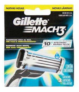 Repuesto Maquina Mach 3 X 2 Gillette