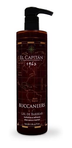 Gel De Barbear Buccaneers 750ml El Capitán