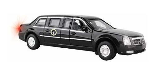 Limusina Presidencial Pullback Daron Con Luces Hs5700