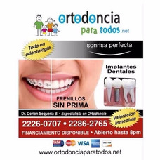 Dentista En San Jose - Costa Rica (hasta Las 8pm)