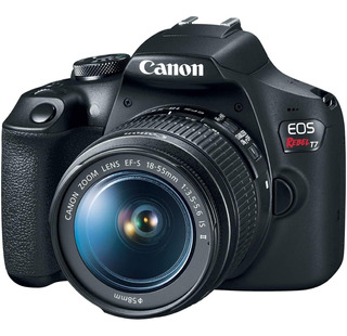 Camara Canon Rebel T7 Kit 18-55mm Is Ii 24mpx Full Hd