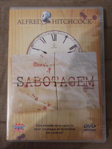 Dvd Sabotagem De Alfred Hitchcock Frete De R$10,00