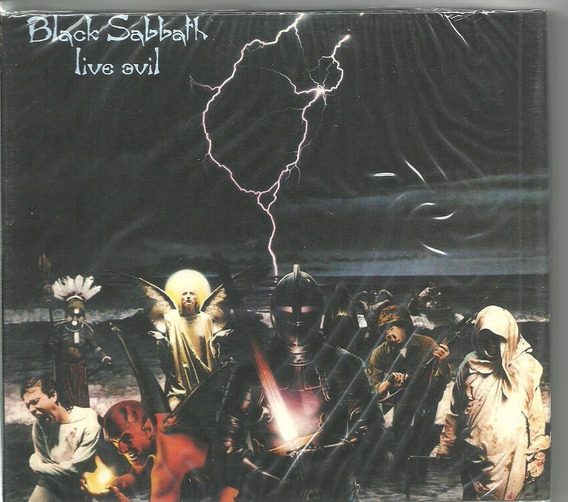 Cd Black Sabbath - Live Evil ( Duplo Lacrado ) Eu Sanctuary