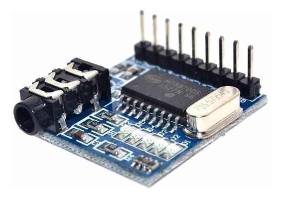 Modulo Decodificador De Tonos Audio Dtmf Mt8870 Voz Arduino