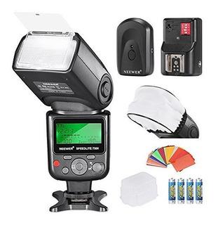 Kit Neewer Pro Ittl Flashdeluxe Para Nikon Dslr D7100 D7000