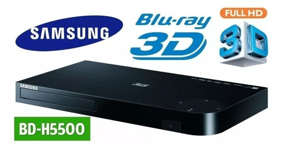 Bluray Samsung Bd-h5500 3d Full Hd Incluye Cable Hdmi