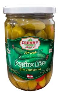 Pepinos Liso Em Conserva 430 Gr Zeenny Ciudad Cotillon Envio