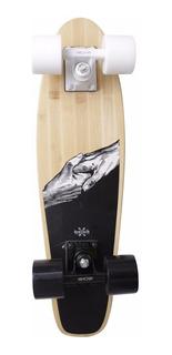 Skate Mini Cruiser Penny Kronik Bambu Long Hands Freira Prof