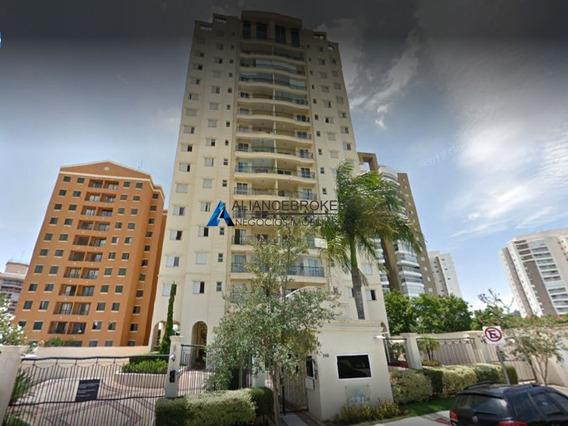 Apartamento Mobiliado 117 M², 3 Suites No Residencial Villa D