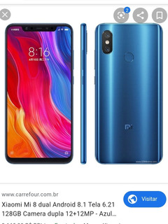 Celular Xiaomi Mi 8