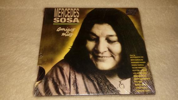 Mercedes Sosa - Amigos Míos (cd Sellado) Charly García *