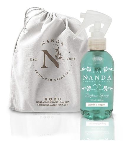 Perfume Spray En Bolsa De Lienzo Jazmín & Muguet - Nanda