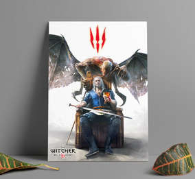 Poster Game The Witcher 3 Wild Hunt Poster Gamer Com Moldura