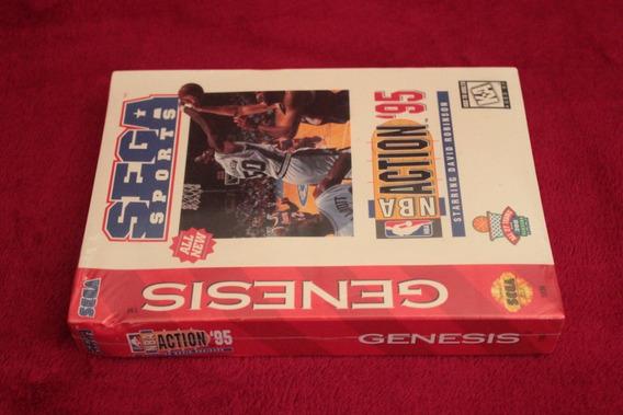 Jogo Nba Action Mega Drive Novo Lacrado 100% Original Usa