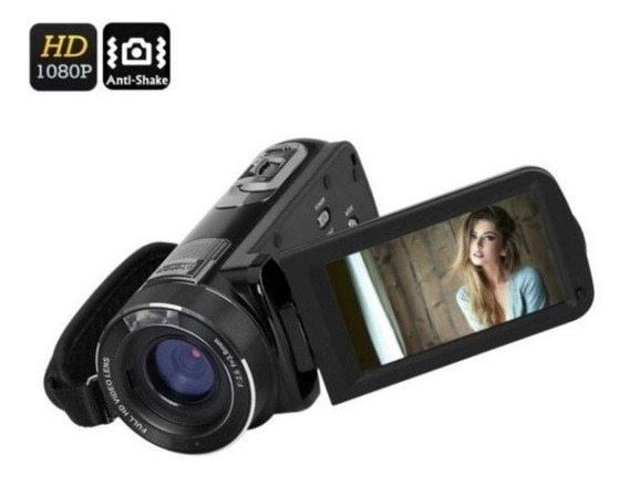 Filmadora Digital Ordro Hdv-z8 Plus Full-hd 16x Zoom 24mp