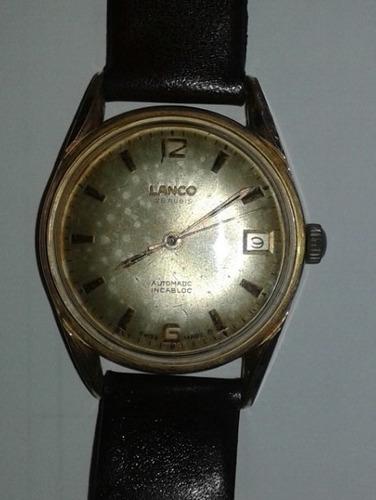 Relógio Lanco Swiss Automatico 25 Rubis