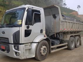 Ford Cargo 2428 Caçamba Ano 2012