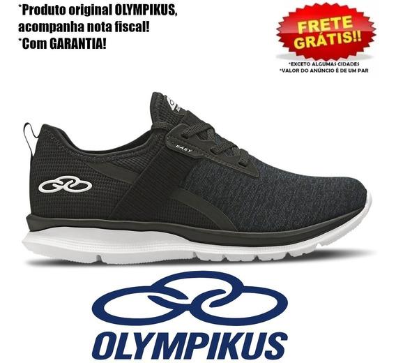 Tênis Olympikus Easy Preto Feminino Original Acadêmia