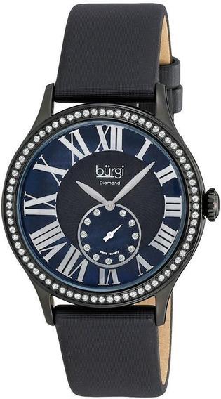 Reloj Burgi Mujer Bur056bk