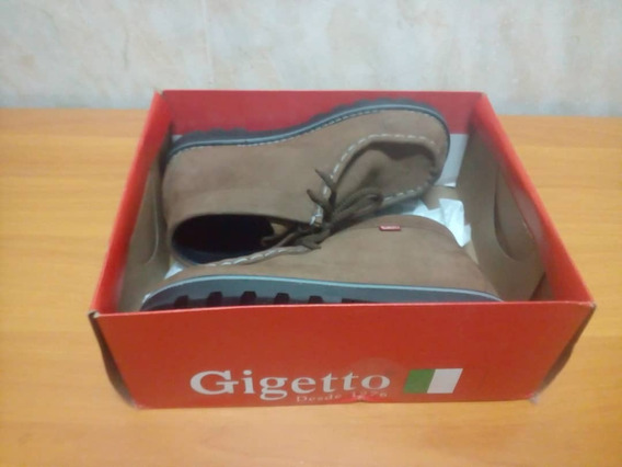 Zapatos Para Niños Gigetto Casi Nuevos Talla 36