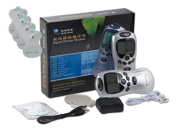 Electro Estimulador Tens Ems Health 4 Canales Masaje Usb