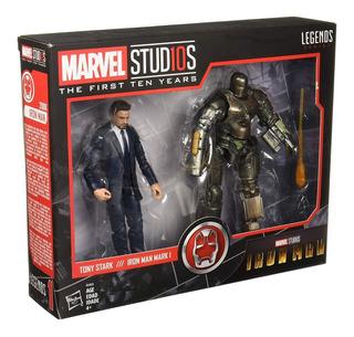 Marvel Legends Tony Stark & Iron Man Mark 1 2-pack
