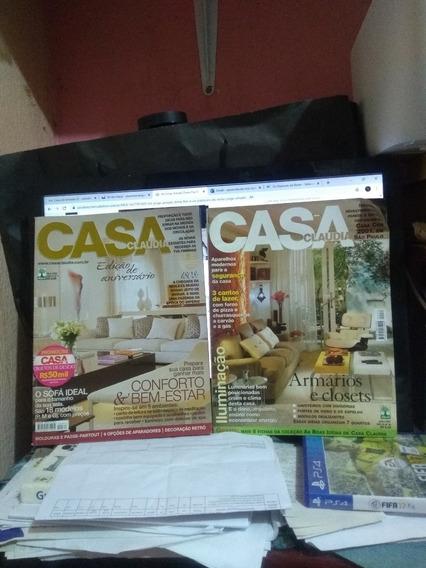 Revista Casa Claudia 03 Unidades Oferta 20 Reais.