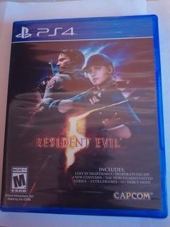 Juego Resident Evil 5 Ps4 Nuevo Original