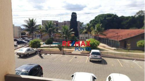 Apartamento Com 2 Dormitórios Para Alugar, 52 M² Por R$ 760,00/mês - Jardim Regina - Mogi Mirim/sp - Ap0110