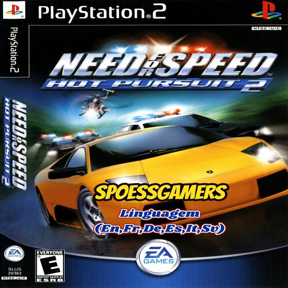 Need For Speed Hot Pursuit 2 Ps2 Desbloqueado Patch