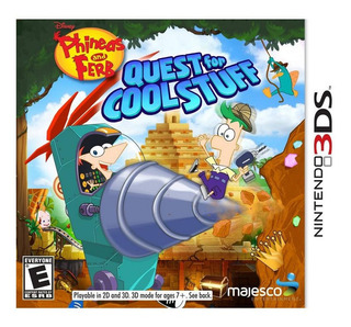 Phineas And Ferb Quest For Cool Stuff 3ds Nuevo *r G Gallery