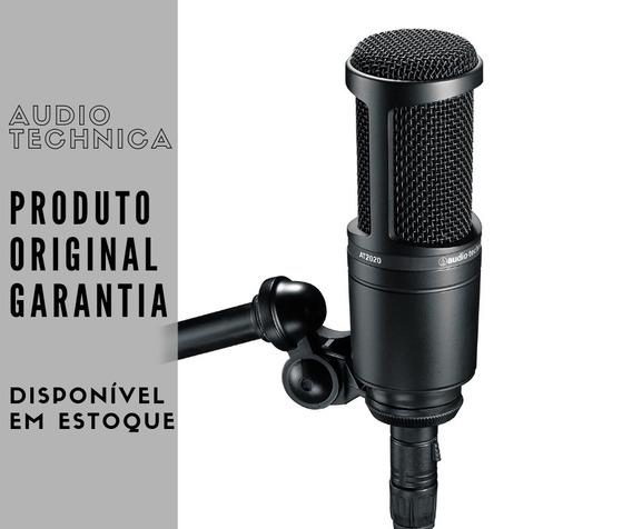 Microfone Condensador Audio Technica At2020 Xlr Envio 24h
