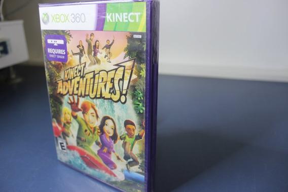 Jogo Lacrado Novo Kinect Adventures Original Xbox 360 _4.b