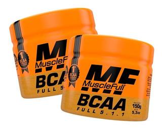 Combo 2x Bcaa Em Pó 5:1:1 - 300g - Muscle Full