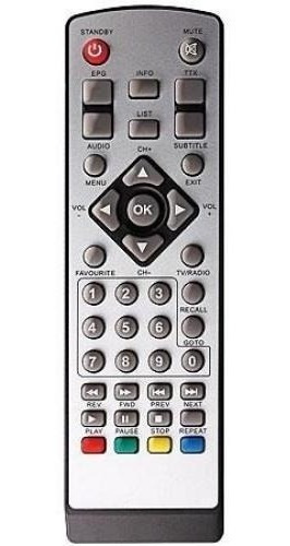 Controle Remoto Conversor Digital Tomate Mcd 888 Mcd-888 Tv