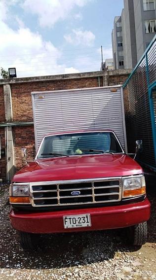 Camioneta Tipo Furgón Ford F. 350 Modelo 1996