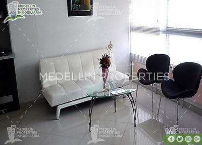 Arrendamiento Amoblados Por Meses Medellín Cód: 4602
