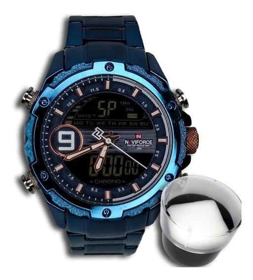 Relógio Masculino Naviforce Original Importado Esportivo