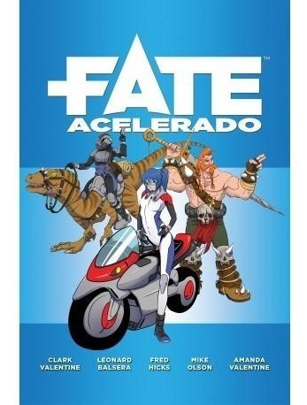 Livro Rpg - Fate Acelerado - Em Português
