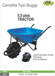 Carretilla T/buggy C/lla. Ref T/tractor 5.5p C&a