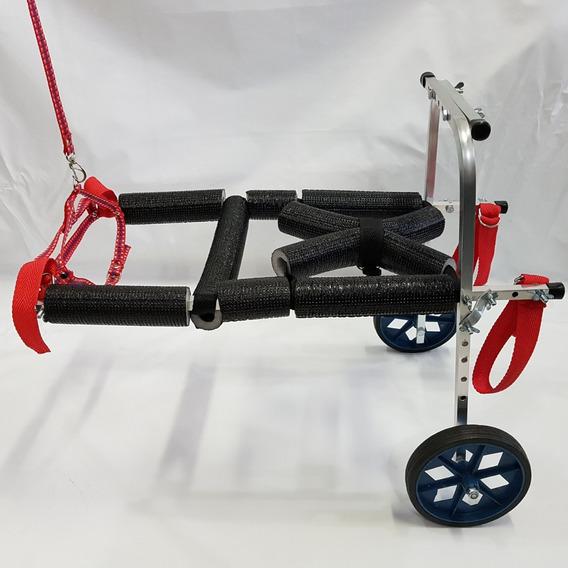 Cadeira De Rodas Para Cachorro Cães 8 A 15kg Pequeno Porte