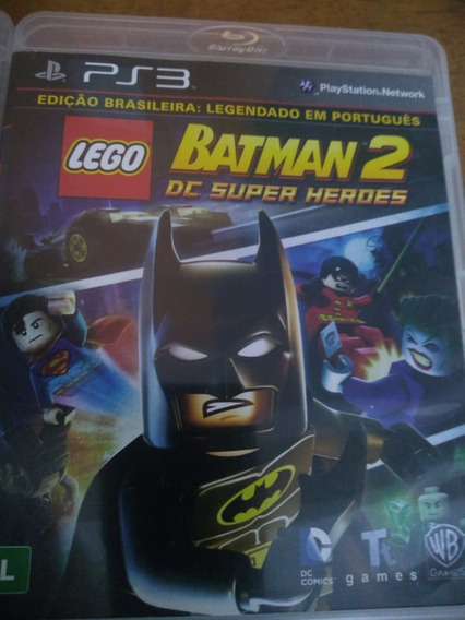 Lego Batman 2: Dc Super Heroes - Ps3 - Mídia Física