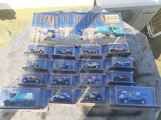 Coleccionables Rally Dakar Escala 1:43 Con Sus Revistas