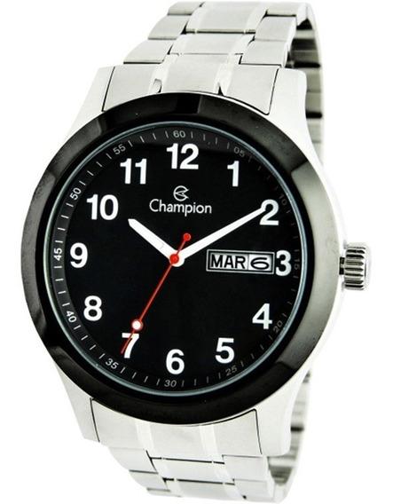 Relógio Champion Prateado Masculino Ca30936p