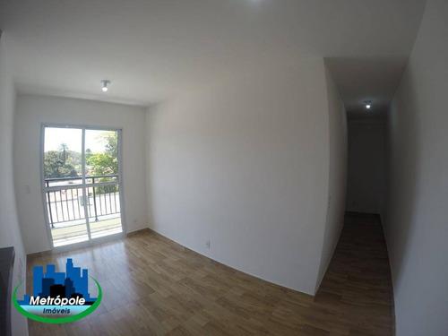Apartamento Com 2 Dormitórios Para Alugar, 50 M² Por R$ 1.299,98/mês - Jardim São Geraldo - Guarulhos/sp - Ap1368