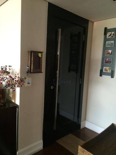 Imagem 1 de 30 de Apartamento Com 4 Dorms 2 Suítes, 3 Vagas 276 M² - Venda Por R$ 2.600.000 Ou Aluguel Por R$ 7.000/mês - Campo Belo - Ap12302